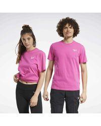 Reebok Camiseta Classics Small Vector - Rosa