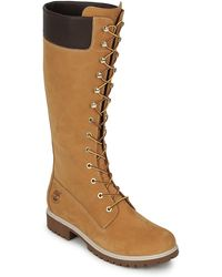 Timberland Women's Premium 14in Wp Boot Women's High Boots In Brown