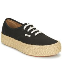 Vans Yt Atwood Women's Shoes (trainers) In Black Lyst