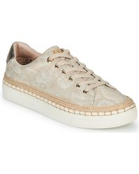 S.oliver Lage Sneakers Neomiss - Naturel