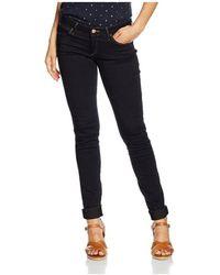 Wrangler Courtney Skinny W23SBV79B Jeans skinny - Bleu
