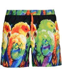 EA7 - Short de bain (Multicolore) hommes Maillots de bain en vert - Lyst