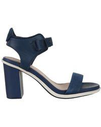 Lacoste Lonelle Heel Sandal Sandals - Blue