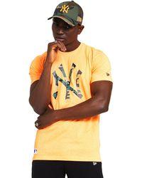 KTZ T-shirt Korte Mouw 12369840 - Oranje