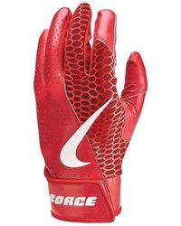 Nike Accessoire sport Gants de Batting Force Ed - Rouge