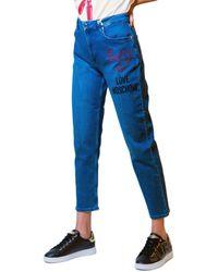 Love Moschino Jeans 3/4 & 7/8 WQ38141S3379 - Bleu