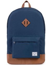 Herschel Supply Co. - Navy/tan Heritage Backpack - Lyst