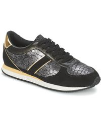 Balsamik - Lila Women's Shoes (trainers) In Black - Lyst