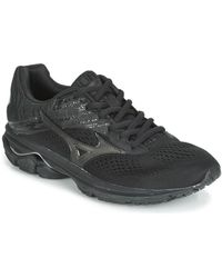 Mizuno Wave Rider 23 Running Trainers - Black