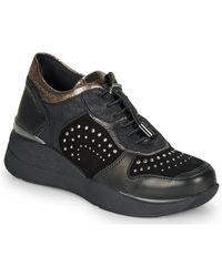 Stonefly Lage Sneakers Elettra 6 - Zwart