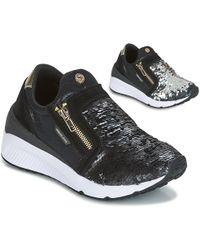 Versace Jeans - Anita Vrbsb1 Women's Shoes (trainers) In Black - Lyst