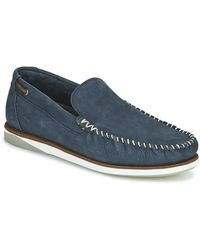 Timberland Chaussures bateau ATLANTIS BREAK VENETIAN - Bleu