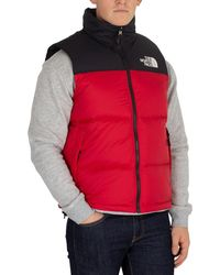 The North Face Nuptse 2 Gilet in Gray for Men - Lyst 76bf39d29