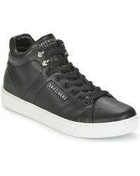 Skechers Hoge Sneakers Prima - Zwart