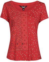 Desigual T-Shirt Estambul - Rosso