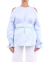 Erika Cavallini Semi Couture S0PP0SJ02 Pull - Bleu
