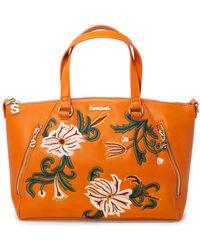 a94a6e8b3d Sac fourre-tout à logo Vans pour homme en coloris Orange - Lyst