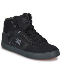 DC Shoes Hoge Sneakers Pure High-top Wc Wnt - Zwart