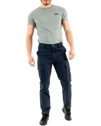 Aigle Besticol 30 marine Pantalon - Bleu