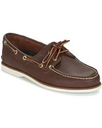 Timberland Zapatos náuticos clásicos - Marrón