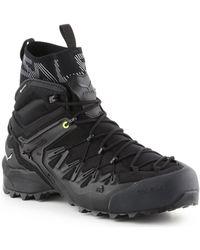 Salewa Ms Wildfire Edge Mid Gtx 61350-0971 hommes Chaussures en Noir