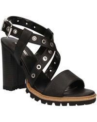 GAUDI - V73-65341 High Heeled Sandals Women Black Women's Sandals In Black - Lyst