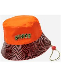 Nicce London Hoed Cranium Soft Structure Bucket Hat - Oranje