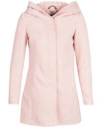 Vero Moda Mantel Vmverodona - Roze