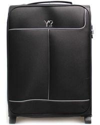 Y Not? ? J-7002 Soft Suitcase - Black
