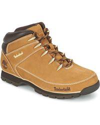Timberland EURO SPRINT HIKER hommes Boots en Beige - Neutre