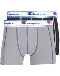 Champion Uni X2 Boxer Shorts - Black