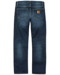Carhartt WIP Carhartt - Jeans Davies Pant - e Natural Dark Wash - Blu
