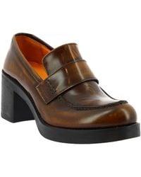 Leonardo Shoes Mocassins 459-69 Abbrasiva Cuoio - Bruin