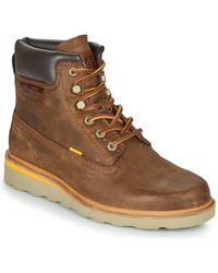 Caterpillar Boots - Marron