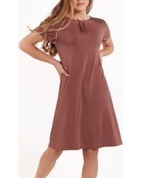 Lisca Chemise de nuit manches courtes Harvest Pyjamas / Chemises de nuit - Marron