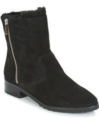 MICHAEL Michael Kors - ANDI FLAT BOOTIE femmes Boots en Noir - Lyst