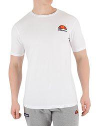 Ellesse Pour des hommes T-shirt Canaletto, blanc hommes T-shirt en blanc