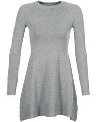 Betty London - Heppif Women's Dress In Grey - Lyst
