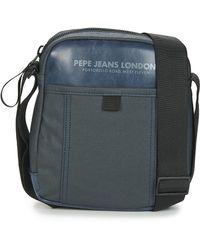 Pepe Jeans Borsa Shopping Factory - Blu