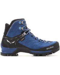 Salewa Domyślna Nazwa Women's Walking Boots In Multicolour - Blue