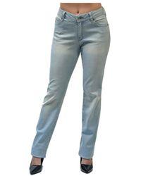 Armani Jeans K5J15 femmes Jeans en bleu