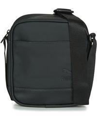 PUMA Ferrari Ls Flat Portable Bag in Black for Men - Lyst 1bd9702fc3ed2