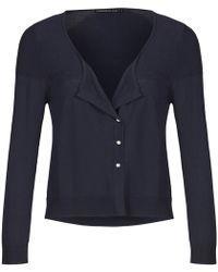Mado Et Les Autres - Polyamide Viscose Knit Cardigan Anais Girl Black Woman Spring/s Women's In Black - Lyst