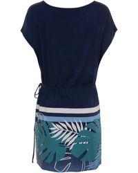 Lisca Korte Jurk Strand Tuniek Tahiti - Blauw