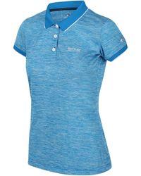 Regatta Polo Femmes Polo Remex II T-shirt col - Bleu