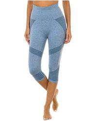DIM Legging de sport Collants - Bleu