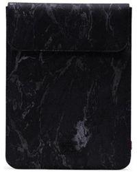 Herschel Supply Co. Laptop-Taschen Spokane Sleeve for iPad Air Black Marble - Schwarz