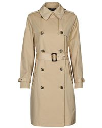 Lauren by Ralph Lauren DB BLD TRNCH-LINED-TRENCH Trench - Neutre