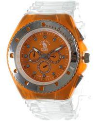 Sc Crystal Montre MF142-orange