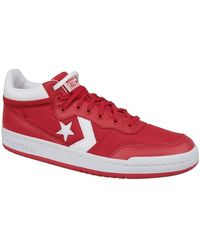 Converse Fastbreak 83 Mid Men's Shoes (high-top Trainers) In Red
